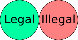 Legal vs Illegal?